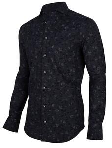 Cavallaro Napoli Iloro Overhemd Zwart