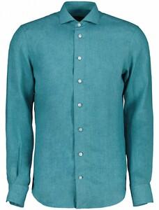 Cavallaro Napoli Leo Overhemd Teal Green