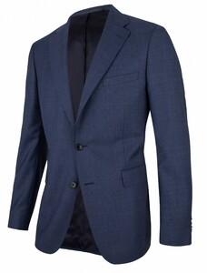 Cavallaro Napoli Magnet Jacket Colbert Midden Blauw