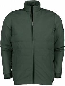 Cavallaro Napoli Mattarello Zip Jacket Vest Donker Groen