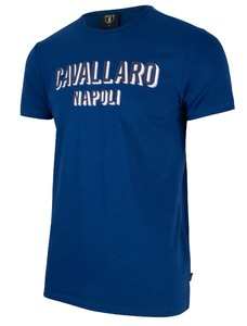 Cavallaro Napoli Miraco Tee T-Shirt Blauw