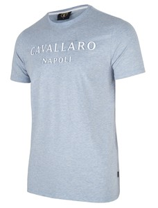 Cavallaro Napoli Miraco Tee T-Shirt Light Blue