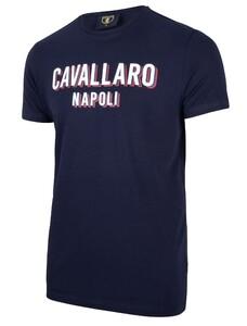 Cavallaro Napoli Miraco Tee T-Shirt Navy
