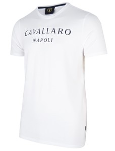 Cavallaro Napoli Miraco Tee T-Shirt Optical White