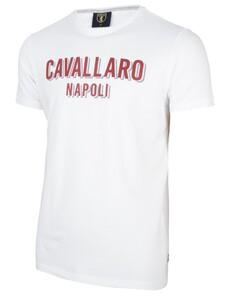 Cavallaro Napoli Miraco Tee T-Shirt Wit