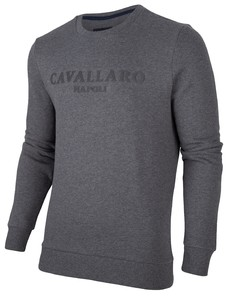 Cavallaro Napoli Mirko Sweat Pullover Dark Gray