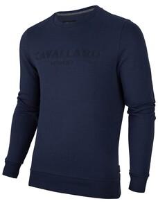 Cavallaro Napoli Mirko Sweat Pullover Navy