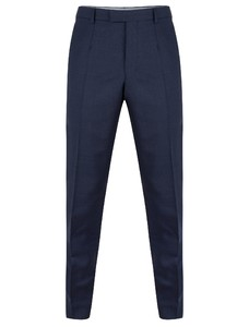 Cavallaro Napoli Mr. Blue Trouser Broek Donker Blauw
