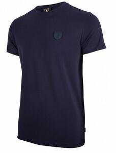 Cavallaro Napoli Napoli Tee T-Shirt Dark Evening Blue