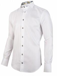 Cavallaro Napoli Naviese Overhemd Wit