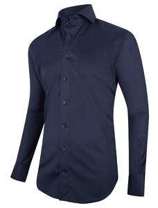 Cavallaro Napoli Navy Widespread Shirt Navy