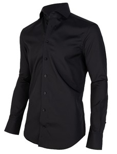 Cavallaro Napoli Nero Sleeve 7 Shirt Black
