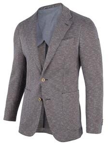 Cavallaro Napoli Nicolo Jacket Jacket Dark Blue-Beige