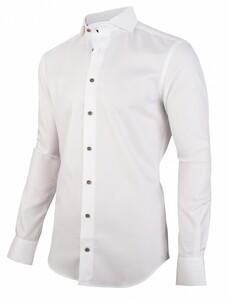 Cavallaro Napoli Nidano Overhemd Wit