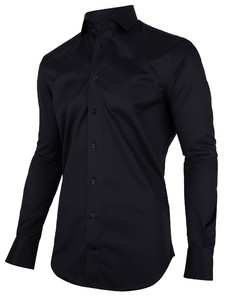 Cavallaro Napoli Nosto Black Sleeve 7 Shirt Black