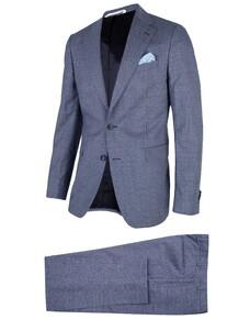 Cavallaro Napoli Ottavio Suit Kostuum Blauw