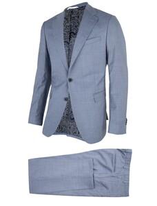 Cavallaro Napoli Ottavio Suit Kostuum Licht Blauw
