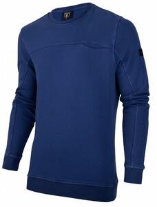 Cavallaro Napoli Pigato Sweat Pullover Marine Blue