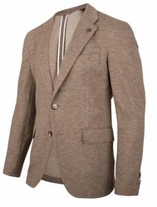 Cavallaro Napoli Primo Jacket Colbert Beige Melange