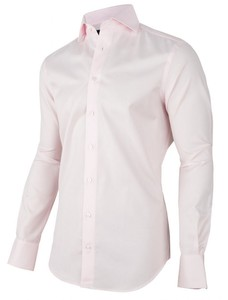Cavallaro Napoli Punk Uni Mouwlengte 7 Overhemd Midden Roze