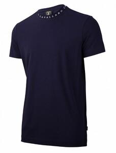 Cavallaro Napoli Recco Tee T-Shirt Donker Blauw