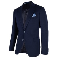Cavallaro Napoli Roma Jacket Dark Blue-Black
