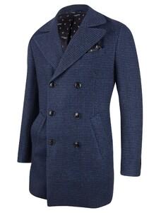Cavallaro Napoli Rovigo Coat Dark Evening Blue