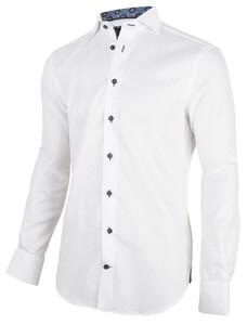 Cavallaro Napoli Sergo Shirt White-Navy