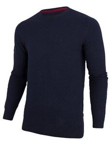 Cavallaro Napoli Structuro Pullover Pullover Navy