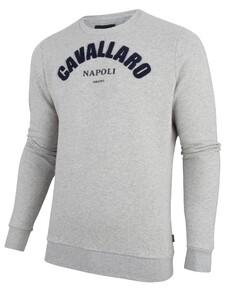 Cavallaro Napoli Studio Sweat Pullover Grey
