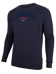 Cavallaro Napoli Studio Sweat Pullover Navy
