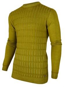 Cavallaro Napoli Testo Garment Dye Pullover Green