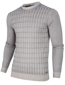 Cavallaro Napoli Testo Garment Dye Pullover Light Grey