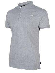 Cavallaro Napoli Uni Logo Poloshirt Grey