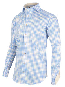 Cavallaro Napoli Valbrono Shirt Overhemd Licht Blauw