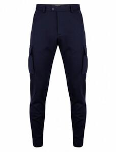 Cavallaro Napoli Valerio Trousers Pants Dark Evening Blue