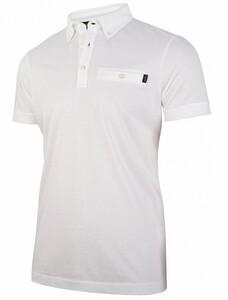Cavallaro Napoli Valiano Polo Poloshirt White
