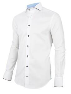 Cavallaro Napoli Zine Overhemd Wit