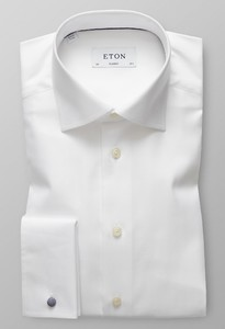 Eton Signature Uni French Cuff Wit