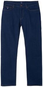 Gant Regular Straight Jeans Midden Blauw