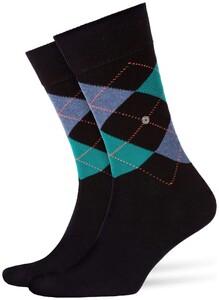 Burlington King Socks Near Black Melange
