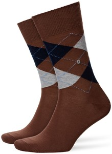 Burlington King Socks Chocolate