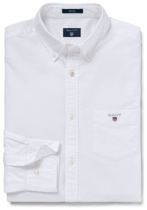 Gant The BCI Oxford Shirt Wit