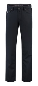 Com4 5-Pocket Wool Broek Navy