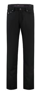 Com4 5-Pocket Wool Broek Zwart