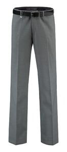 Com4 Flat-Front Summer Wool Broek Grijs