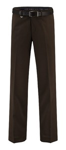 Com4 Flat-Front Wool All Season Broek Bruin