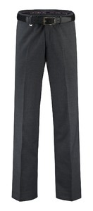 Com4 Flat-Front Wool All Season Broek Grijs