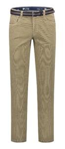 Com4 Swing Front Corduroy Cotton Rib Corduroy Trouser Beige