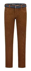 Com4 Swing Front Corduroy Cotton Rib Corduroy Trouser Terra